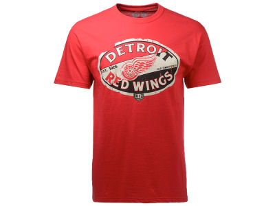 Detroit Red Wings Old Time Hockey NHL Men's CN Cast T-Shirt