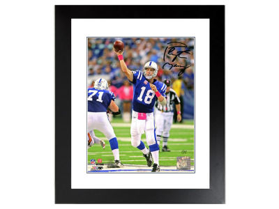 Indianapolis Colts Peyton Manning Peyton Manning Autographed Framed 8x10 #ed to 18