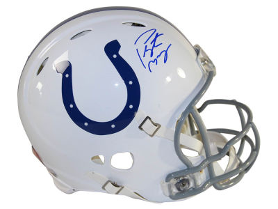 Indianapolis Colts Peyton Manning Peyton Manning Autographed Mini Helmet Steiner