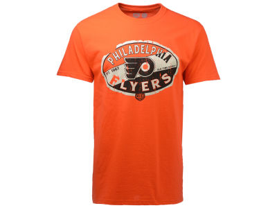 Philadelphia Flyers Old Time Hockey NHL Men's CN Cast T-Shirt