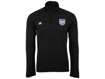 Sacramento Kings adidas NBA Men's Lightweight Screen Quarter Zip Pullover