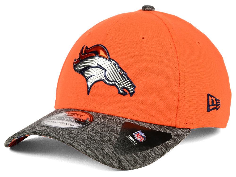 Denver Broncos New Era 2016 NFL Draft Reverse 39THIRTY Cap  07287c93bee