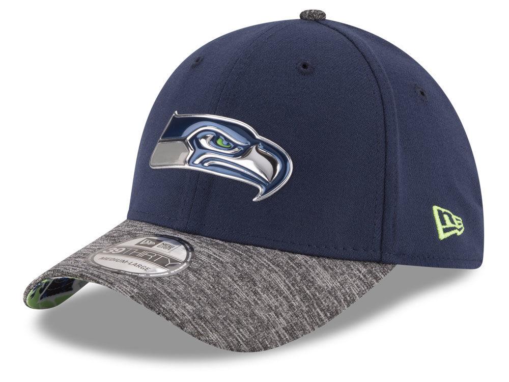 ea8c5ad28 Seattle Seahawks New Era 2016 NFL Draft Reverse 39THIRTY Cap