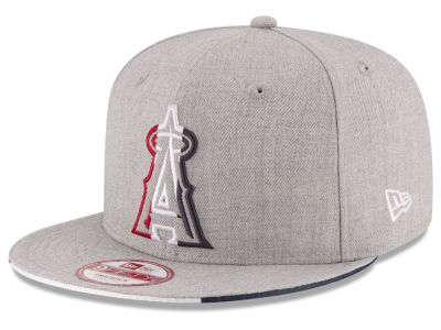 Los Angeles Angels New Era MLB Triple-H 9FIFTY Snapback Cap