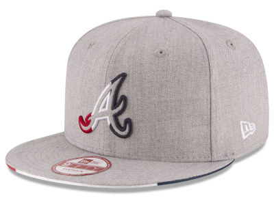 Atlanta Braves New Era MLB Triple-H 9FIFTY Snapback Cap