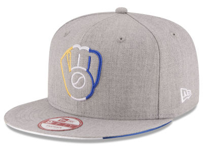Milwaukee Brewers New Era MLB Triple-H 9FIFTY Snapback Cap