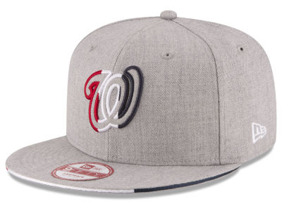 Washington Nationals New Era MLB Triple-H 9FIFTY Snapback Cap