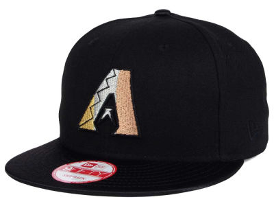 Arizona Diamondbacks New Era MLB All Metals 9FIFTY Snapback Cap