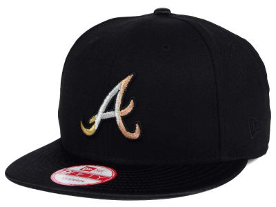 Atlanta Braves New Era MLB All Metals 9FIFTY Snapback Cap