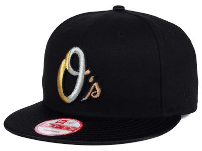 Baltimore Orioles New Era MLB All Metals 9FIFTY Snapback Cap
