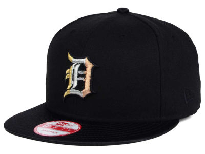 Detroit Tigers New Era MLB All Metals 9FIFTY Snapback Cap