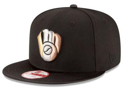Milwaukee Brewers New Era MLB All Metals 9FIFTY Snapback Cap