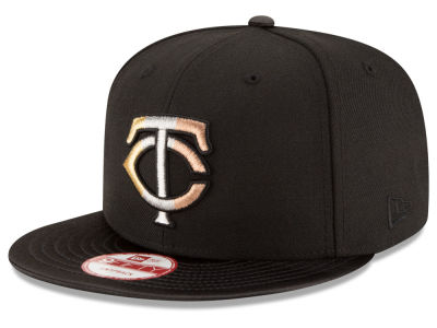 Minnesota Twins New Era MLB All Metals 9FIFTY Snapback Cap