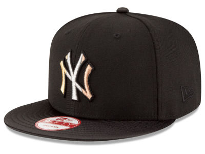 New York Yankees New Era MLB All Metals 9FIFTY Snapback Cap