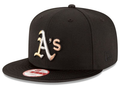 Oakland Athletics New Era MLB All Metals 9FIFTY Snapback Cap
