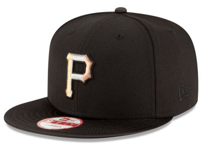 Pittsburgh Pirates New Era MLB All Metals 9FIFTY Snapback Cap