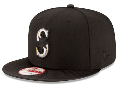 Seattle Mariners New Era MLB All Metals 9FIFTY Snapback Cap