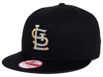 St. Louis Cardinals New Era MLB All Metals 9FIFTY Snapback Cap