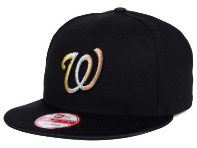 Washington Nationals New Era MLB All Metals 9FIFTY Snapback Cap