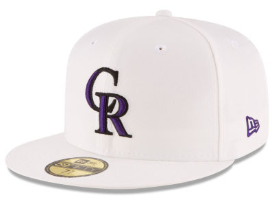 Colorado Rockies New Era MLB Home Team 59FIFTY Cap