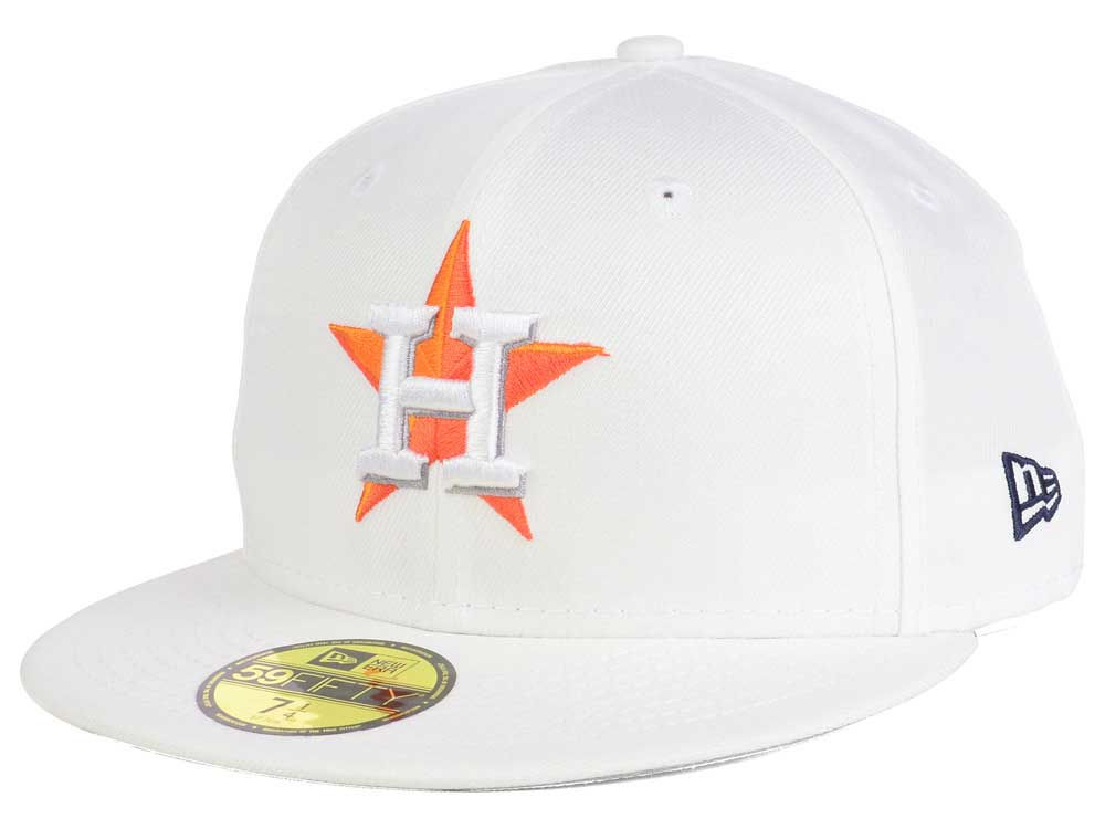 528dfe3a574 Houston Astros New Era MLB Home Team 59FIFTY Cap