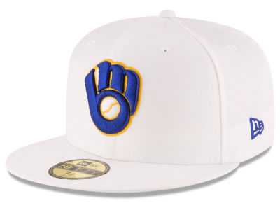 Milwaukee Brewers New Era MLB Home Team 59FIFTY Cap