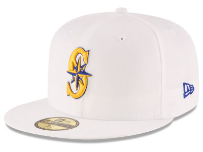 Seattle Mariners New Era MLB Home Team 59FIFTY Cap