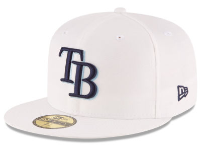 Tampa Bay Rays New Era MLB Home Team 59FIFTY Cap