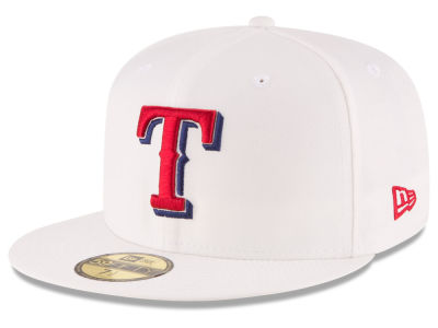 Texas Rangers New Era MLB Home Team 59FIFTY Cap