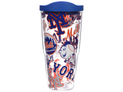 New York Mets 24oz All Over Colossal Wrap Tumbler