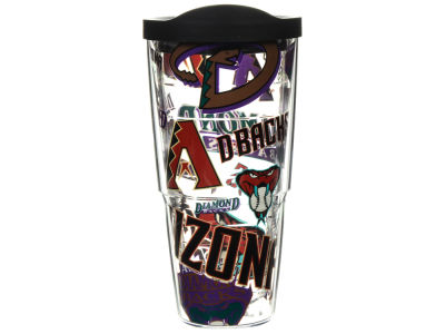 Arizona Diamondbacks 24oz All Over Colossal Wrap Tumbler