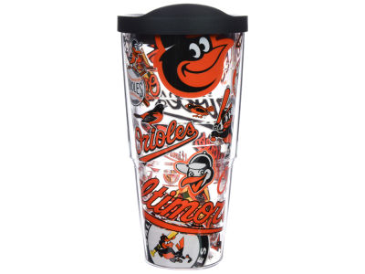 Baltimore Orioles 24oz All Over Colossal Wrap Tumbler