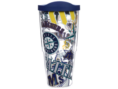 Seattle Mariners 24oz All Over Colossal Wrap Tumbler