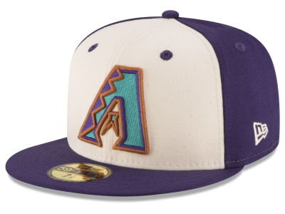 Arizona Diamondbacks New Era MLB Vintage Throwback 59FIFTY Cap