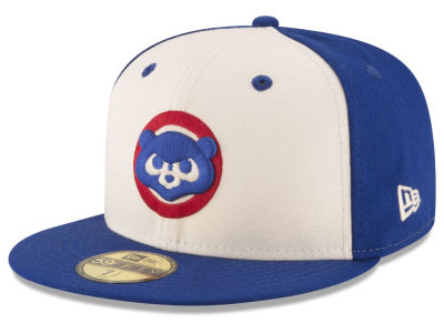 Chicago Cubs New Era MLB Vintage Throwback 59FIFTY Cap