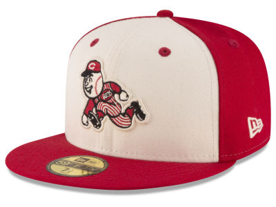 Cincinnati Reds New Era MLB Vintage Throwback 59FIFTY Cap
