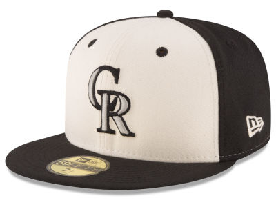 Colorado Rockies New Era MLB Vintage Throwback 59FIFTY Cap