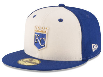 Kansas City Royals New Era MLB Vintage Throwback 59FIFTY Cap