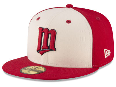 Minnesota Twins New Era MLB Vintage Throwback 59FIFTY Cap