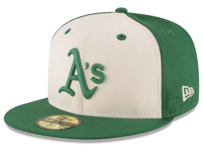 Oakland Athletics New Era MLB Vintage Throwback 59FIFTY Cap