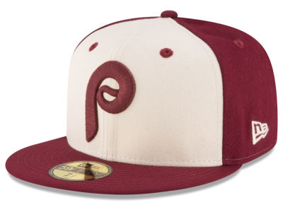 Philadelphia Phillies New Era MLB Vintage Throwback 59FIFTY Cap