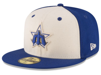 Seattle Mariners New Era MLB Vintage Throwback 59FIFTY Cap