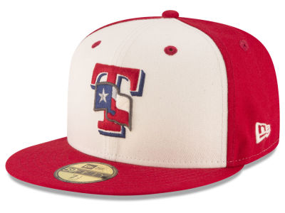 Texas Rangers New Era MLB Vintage Throwback 59FIFTY Cap
