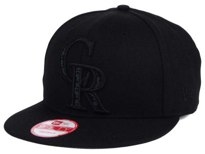 Colorado Rockies New Era MLB XL Iridescent Logo 9FIFTY Snapback Cap