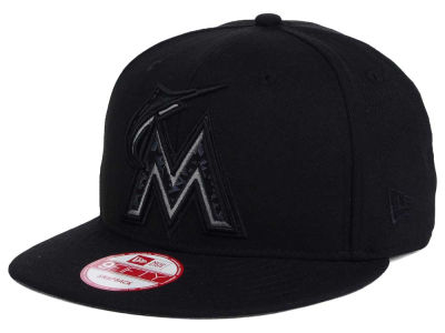 Miami Marlins New Era MLB XL Iridescent Logo 9FIFTY Snapback Cap