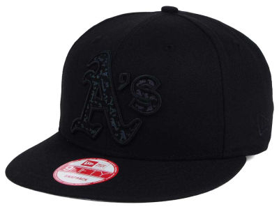 Oakland Athletics New Era MLB XL Iridescent Logo 9FIFTY Snapback Cap