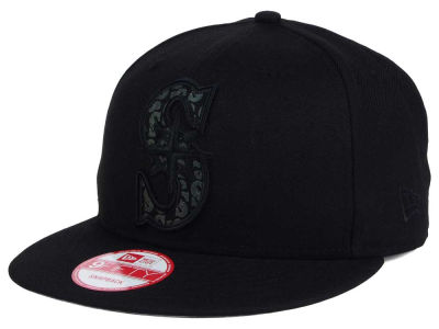 Seattle Mariners New Era MLB XL Iridescent Logo 9FIFTY Snapback Cap