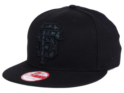 San Francisco Giants New Era MLB XL Iridescent Logo 9FIFTY Snapback Cap