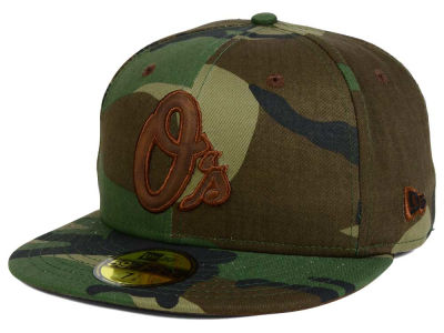 Baltimore Orioles New Era MLB Leatherwood 59FIFTY Cap