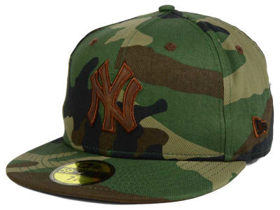 New York Yankees New Era MLB Leatherwood 59FIFTY Cap